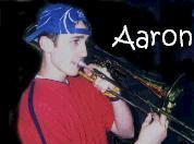 Aaron on Trombone